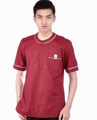 Contoh Model Baju Muslim Untuk Pria Terbaru 2015