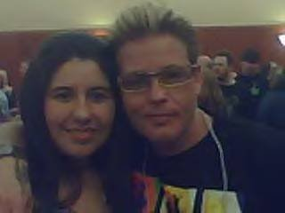 My sister with Corey Haim