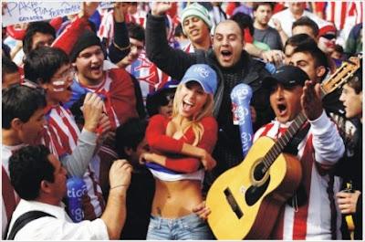Fotos Gaby Wolscham la paraguaya de la Copa América 2011.