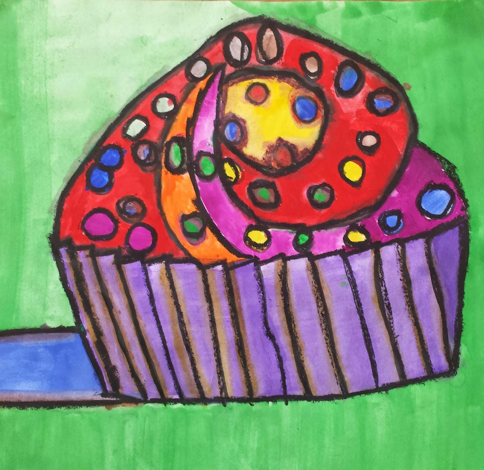 Ms. Allen s Art Room: Thiebaud Cupcakes