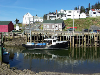 (Canada) - Bay of Fundy - Hall's Harbour