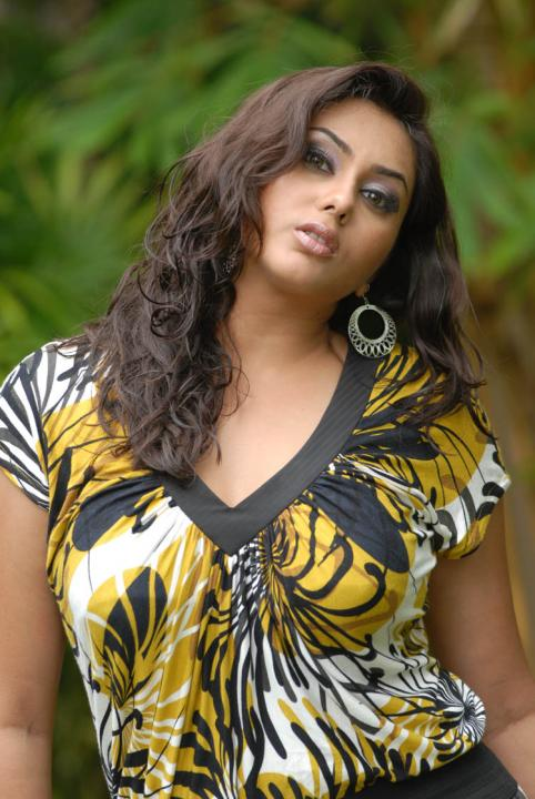 Namitha Hot Pics in Lingerie-Dress Photoshoot