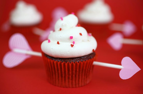 My Moon: Valentine's Day Cupcake Decorating Ideas