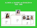 Quadro de Excelência - 2008/2009