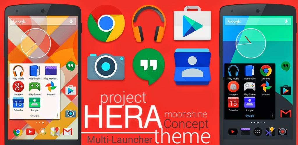 Project Hera Launcher Theme v1.1.0 APK DOWNLOAD