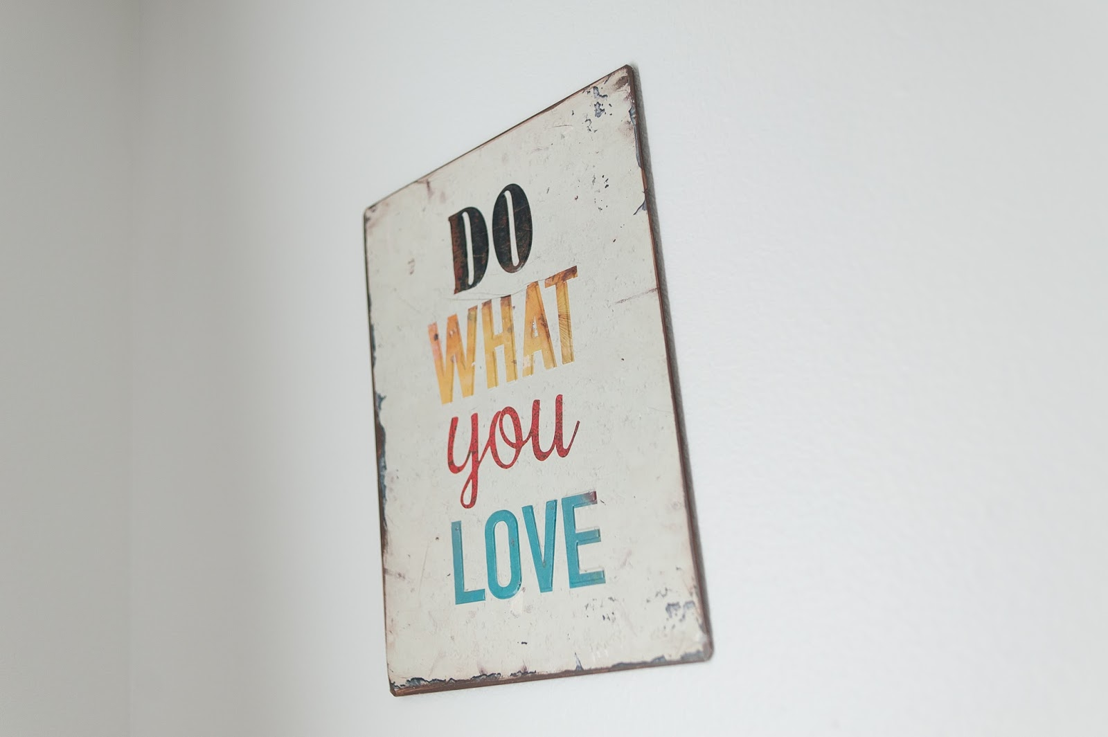Do What You Love sign from Joss & Main