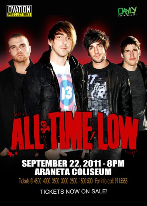 All Time Low Live in Manila, All Time Low Live in Manila Ticket Prices