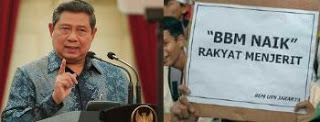 SBY - Harga BBM Naik