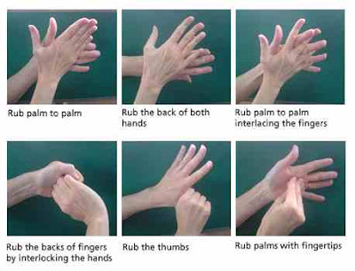 six steps to effective handwashing Six steps to effective handwashing step 1 wet hands and apply soap rub palms together until soap is bubblystep 2 rub each palm over the back of the other hand.