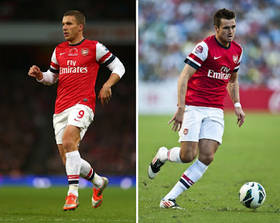 Lukas Podolski and Carl Jenkinson set to leave