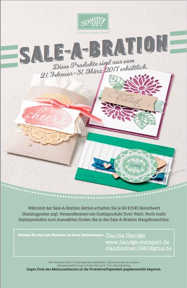 Sale-A-Bration 2. Broschüre