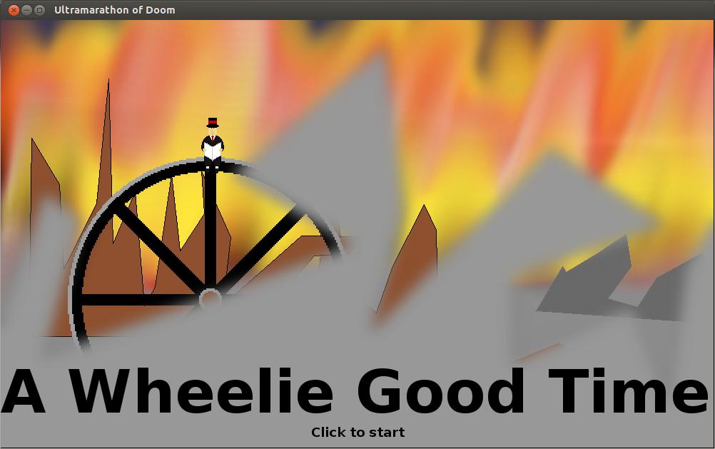 A screenshot of A Wheelie Good Time
