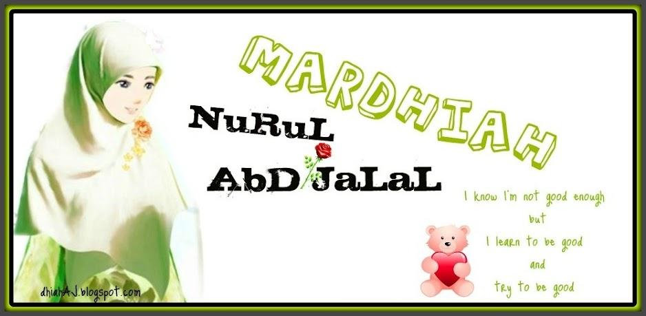NuRuL MaRdHiAH AbD JaLaL