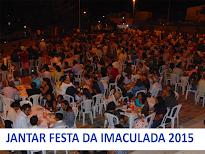 CONFIRA AS FOTOS DO JANTAR DA FESTA DA IMACULADA