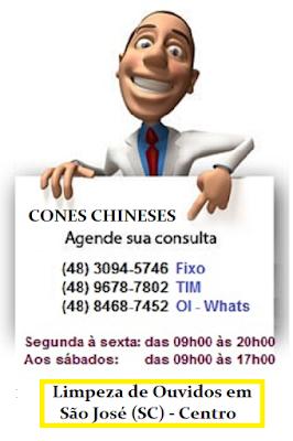 Terapia do Cone Chinês ou Hindu em São José SC - Técnica natural de Desobstrução de Ouvido, Nariz e Garganta