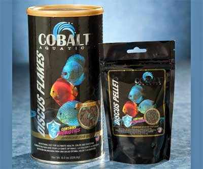 Cobalt Brand Discus Flake Fish Food