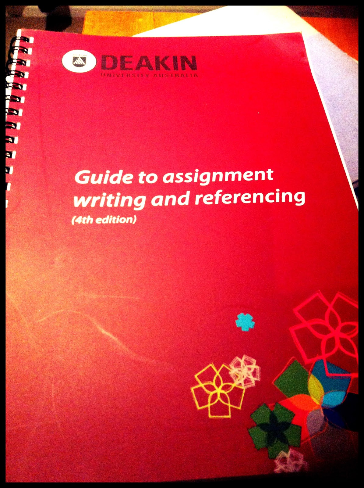 deakin university thesis writing