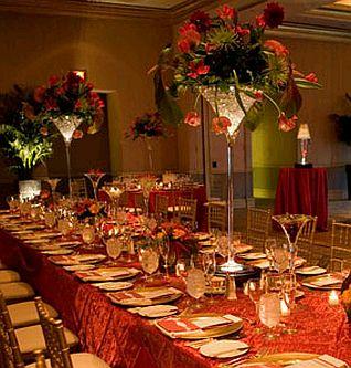 Centros de mesa con copas altas parte 1 for Centros de mesa con copas