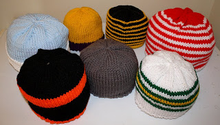 Hand Knit Hats by Jus Shar Designs on etsy