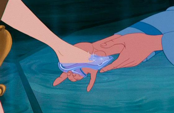 zapato cristal cenicienta