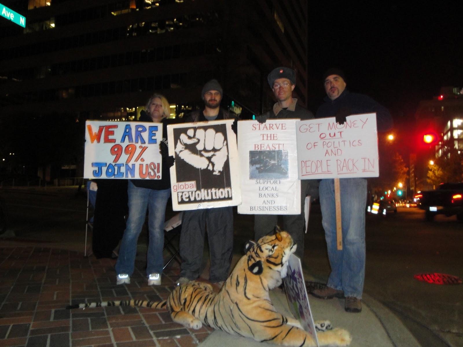 Occupy Birmingham.