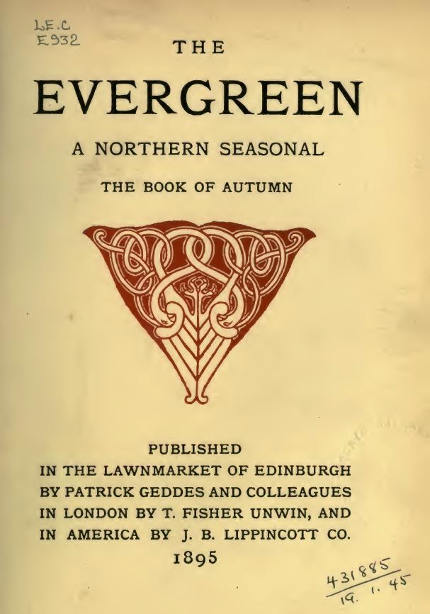The Evergreen Patrick Geddes