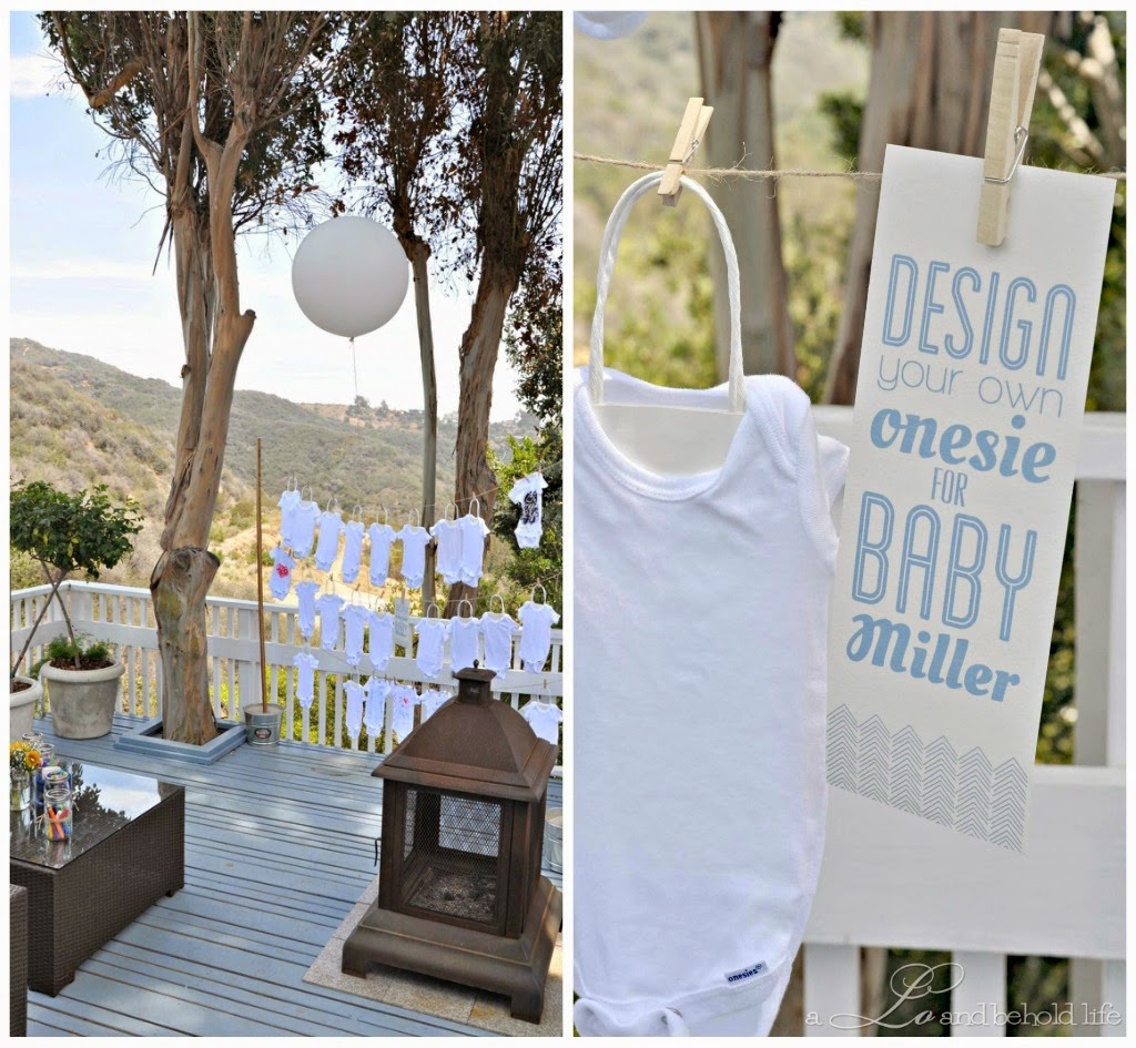 rustic backyard bbq baby shower a lo and behold life