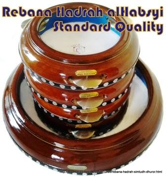 Rebana Hadrah Pekalongan - Salafudin dengan komposisi 4 Rebana Hadrah dan 1 buah Bass Rebana atau Bass Ceper.