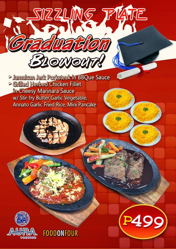 Sizzling Plate's Graduation Blowout