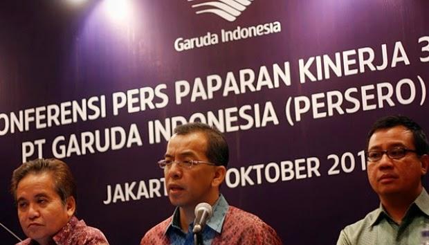 PT Garuda Indonesia Tbk Terbitkan 17 Juta Saham Baru