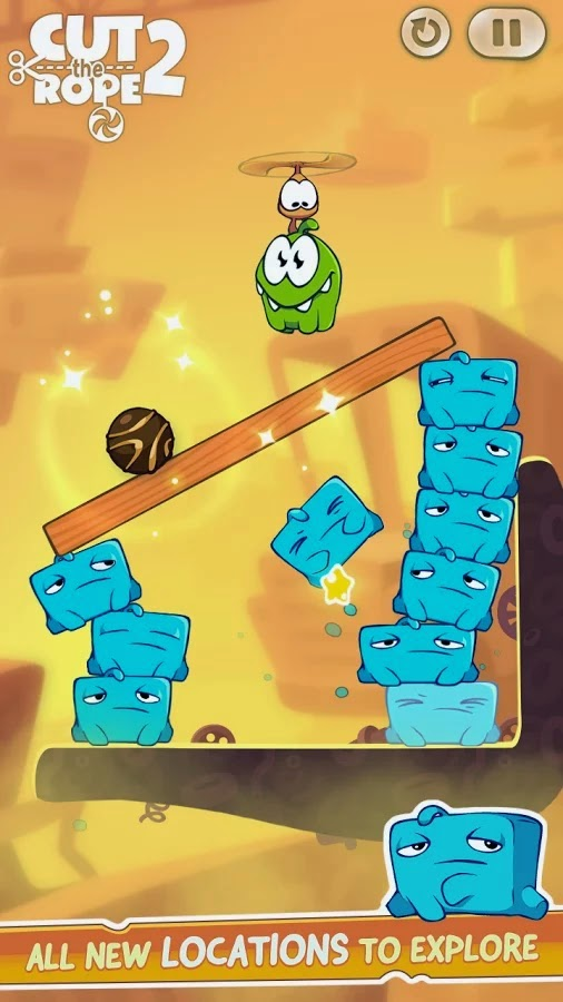 Cut the Rope 2 v1.1.5 Mod [Unlimited Money]