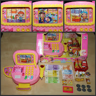 New Cash Register Pink with light n music,RM28 only!!!