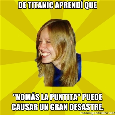 De Titanic aprendí que