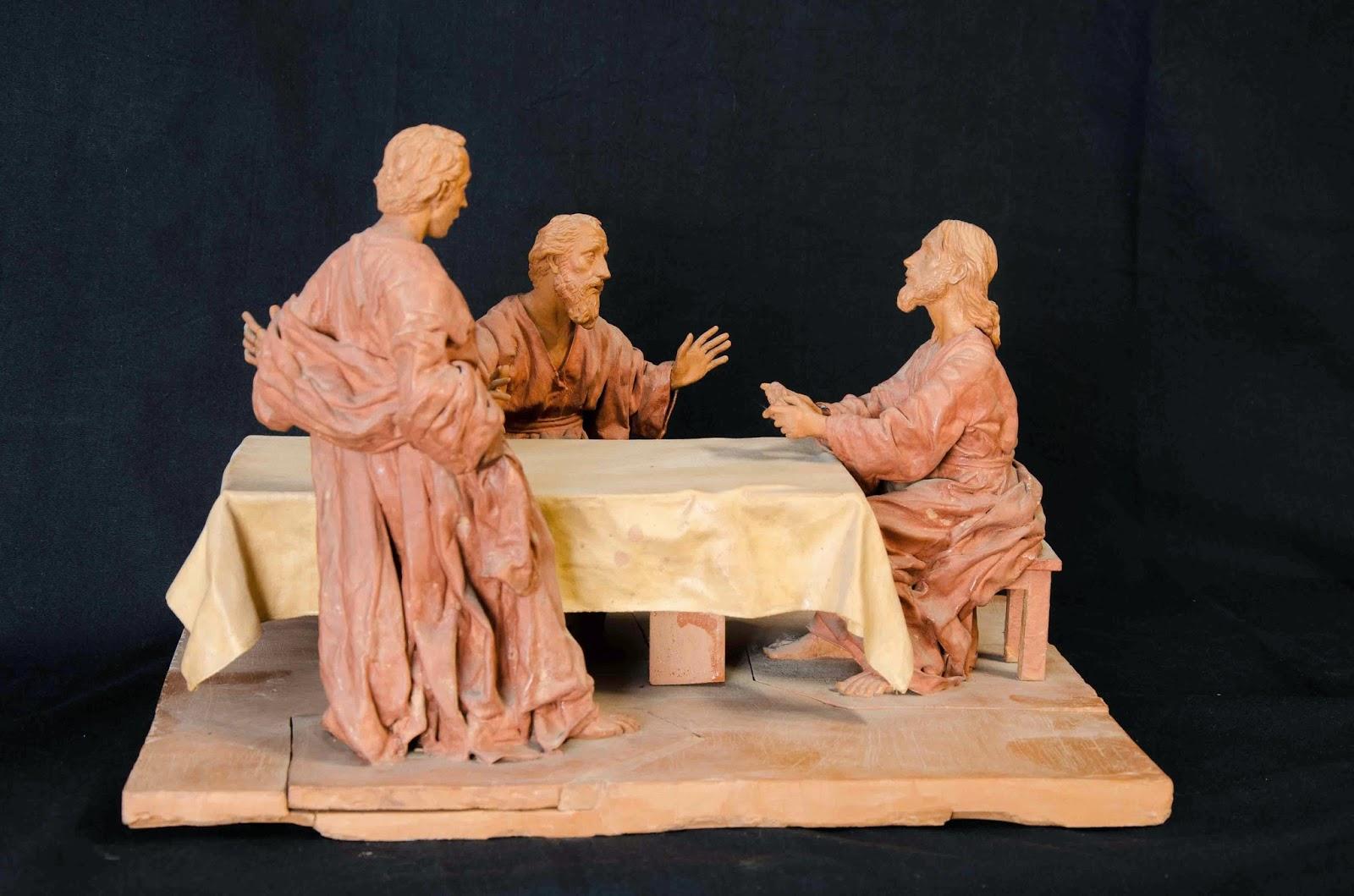 Discípulos de Emaús Semana Santa Jumilla Murcia escultura 6