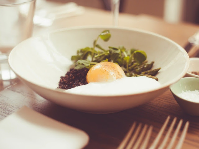 Egg Confit at The Imperial, Chelsea