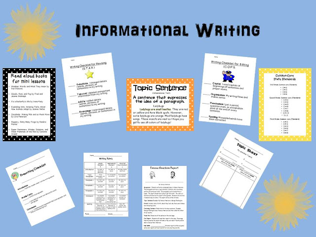 informational report writing