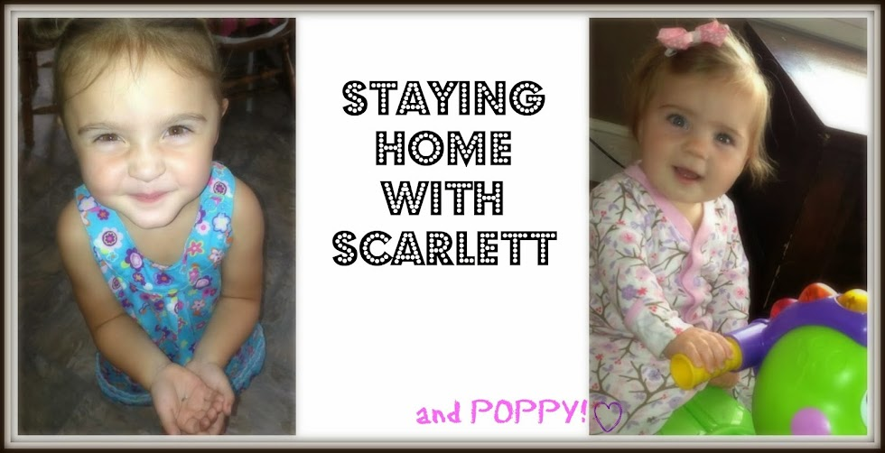 Staying Home with Scarlett
