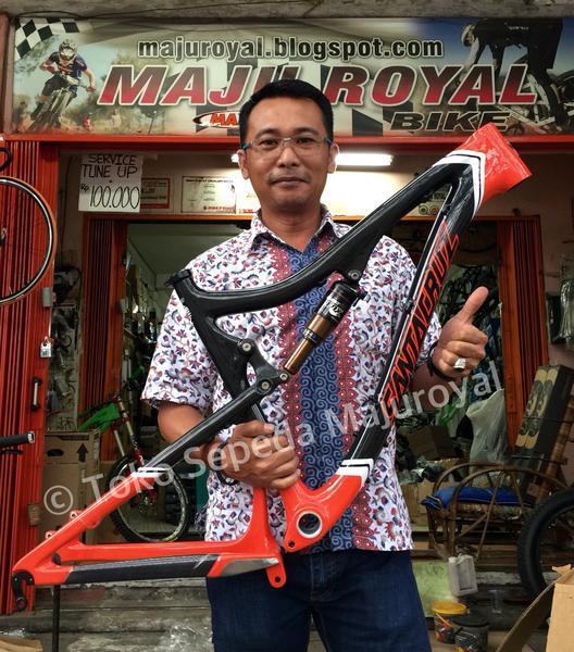 Toko Sepeda Online Majuroyal: Jual Frame Santa Cruz