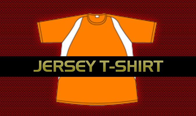 Jersey T-Shirt Template Vector