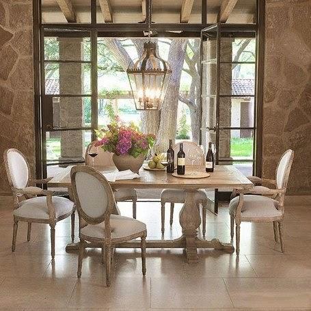 square classic and elegant dining table design