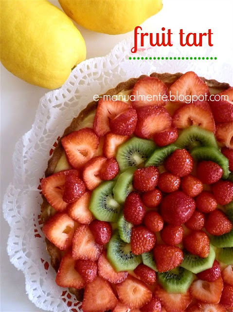 STRAWBERRIES AND CREAM TART
