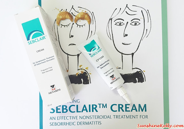 Sebclair Cream, Non Steroidal Treatment, Seborrheic Dermatitis in Malaysia, skin disorder, Dermatitis, eczema, chronic dandruff, Acne Vulgaris