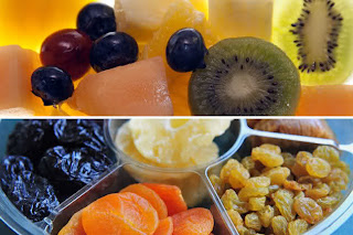 Fresh or dried fruit - which is better