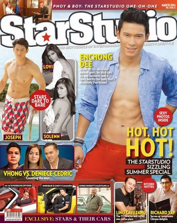 Enchong Dee and Joseph Marco caught shirtless
