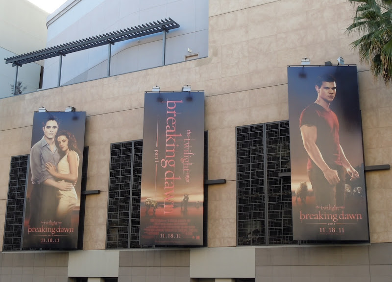 Twilight Breaking Dawn Part 1 billboards
