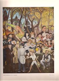 Sueño dominical en la alameda, Diego Rivera