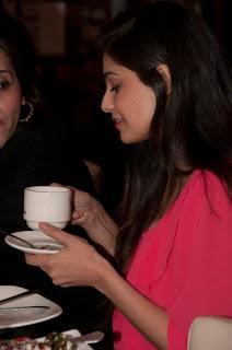 Hot Ameesha and Puja Gupta promote Shortcut Romeo in London