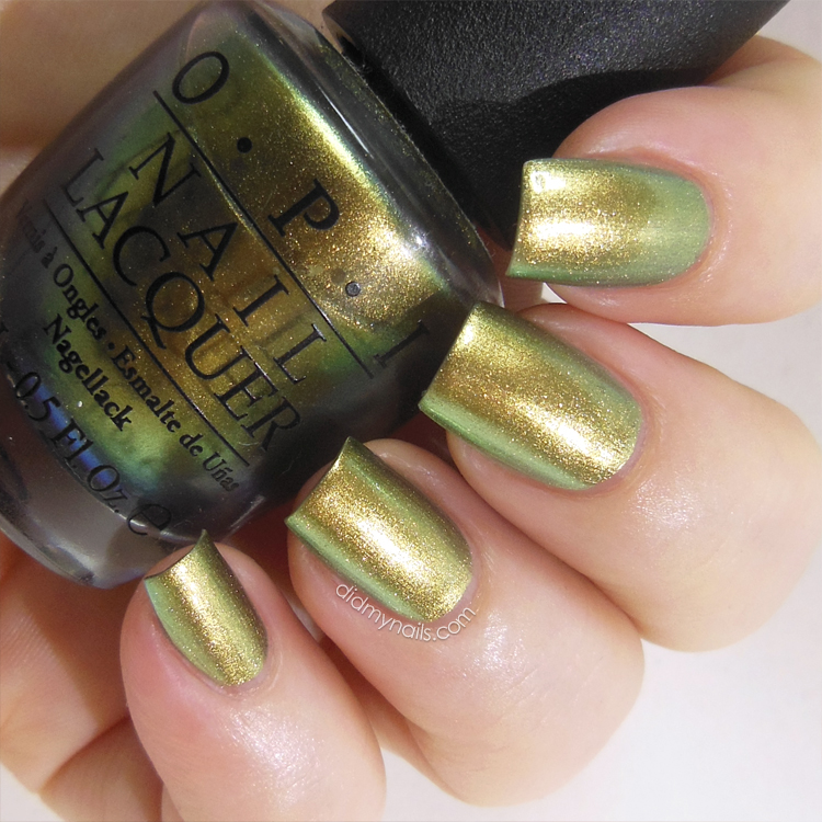 OPI Just Spotted the Lizard swatch