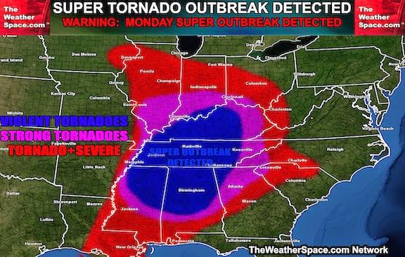 Macgellan Us Hwy 70 Tennessee Tornado Threat Transit