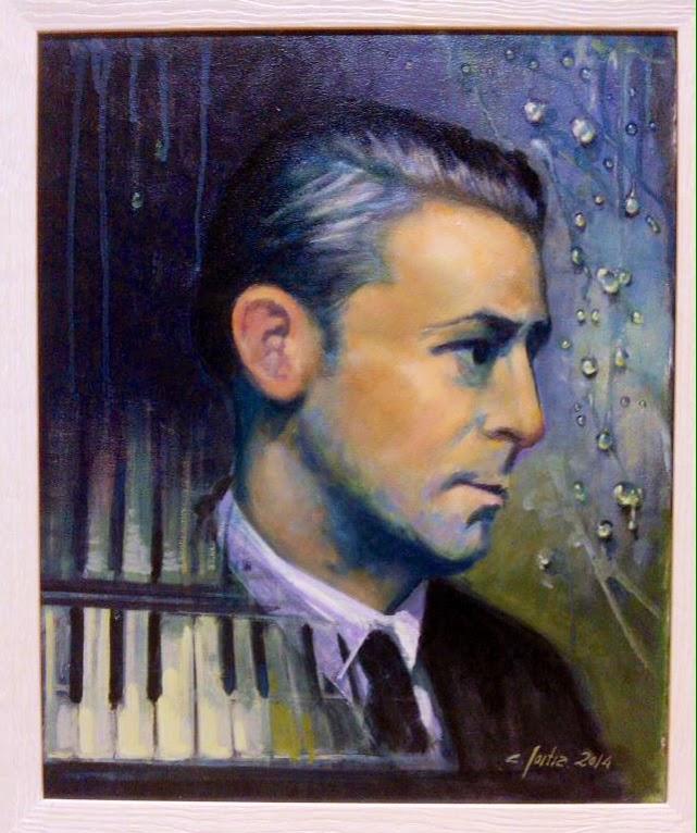Arturo Dúo Vital pintado por Carlos Goitia